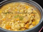 Cauliflower And Carrot Kurma