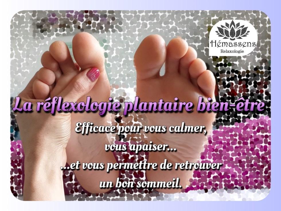 Réflexologie plantaire bien-être Hémassens Relaxologie Fameck