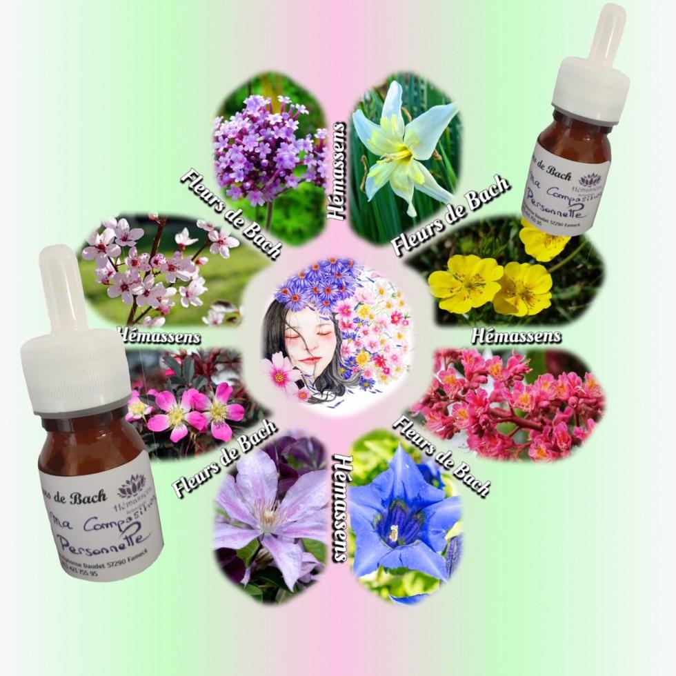 Flacon Fleurs de Bach Hémassens Relaxologie Fameck