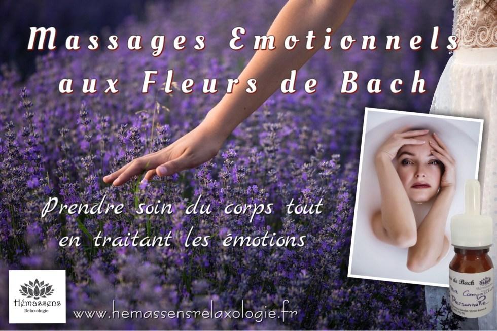 Massage émotionnel aux fleurs de Bach Hémassens Relaxologie Fameck