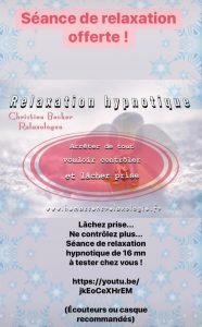 Relaxation hypnotique offerte Hémassens