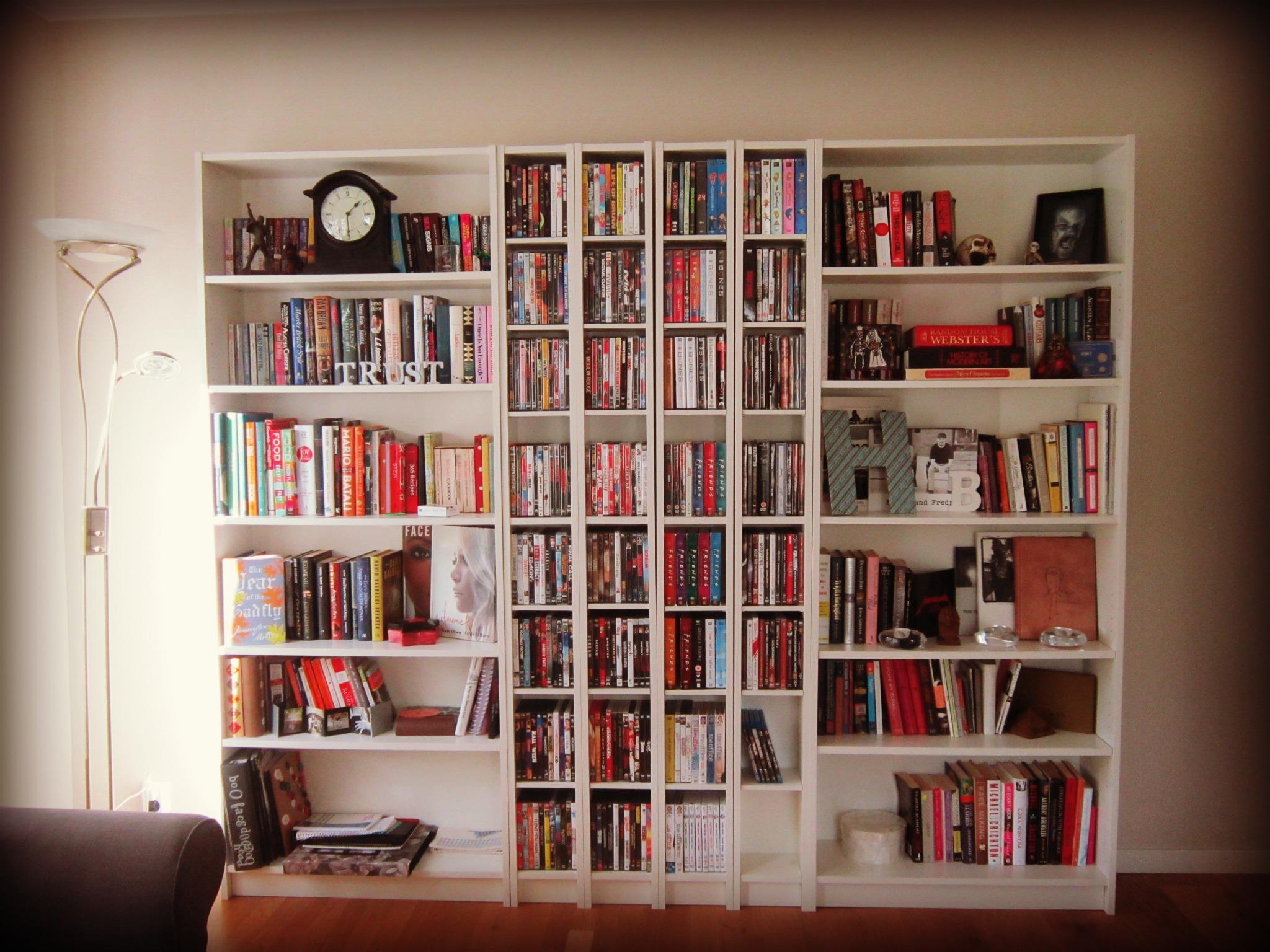 Bookcase Breakdown The Hemborg Wife