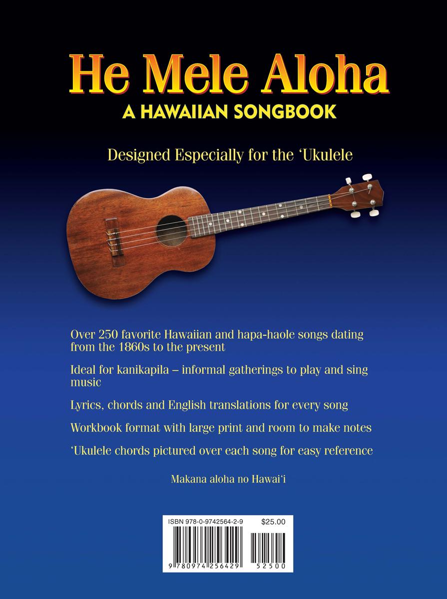 He Mele Aloha, Print Edition in English