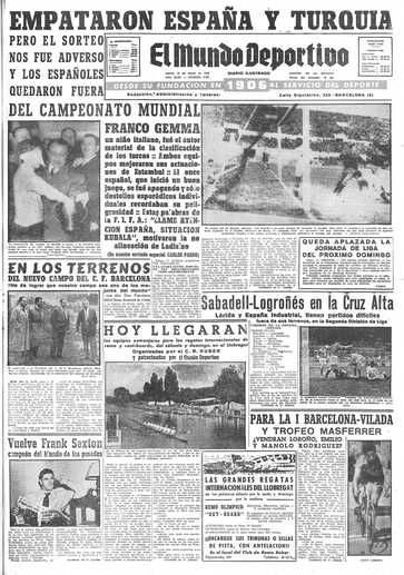 Edición del jueves 18 de marzo de 1954 - Página 1