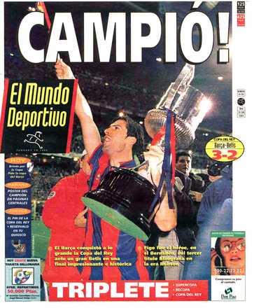Edición del domingo 29 de junio de 1997 - Página 1