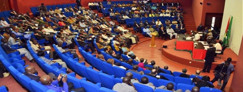 Les députés en plénière lors du vote de la loi sur la limitation du mandat du Président de la République © Rfi/ Hémicycles d'Afrique