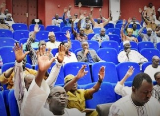 Les députés burkinabés lors de l'adoption du nouveau code pénal ce vendredi 21 juin 2019 © leFaso.net/HA