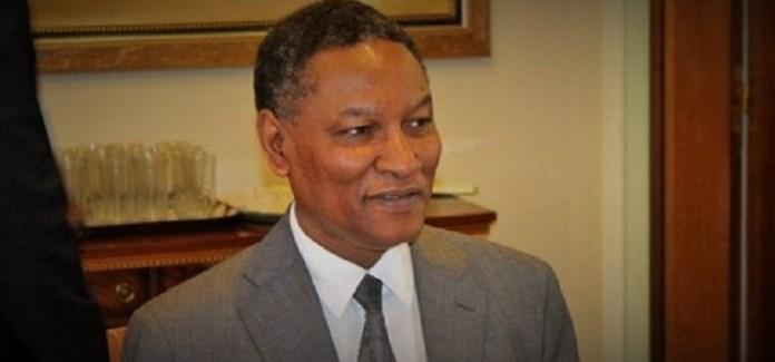 Mamadou Diop, ministre nigérien de l'économie et des finances © DR/HA