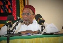 Ali Nouhoum Diallo, ancien président de l'assemblée nationale du Mali © Maliweb