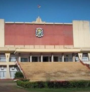 Siège de l'Assemblée nationale de la Centrafrique © Rfi / HA