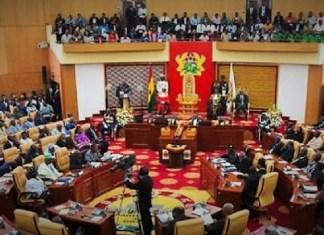 Vue partielle de l'Assemblée nationale du Ghana © Parliament of Ghana/ HA