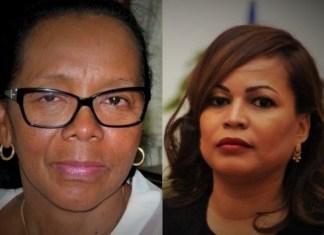 Les députées Christine Razanamahasoa et Irmah Naharimamy, candidates à la présidence de l'Assemblée nationale malgache © montage de Hémicycles d'Afrique