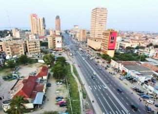 Vue partielle de la ville de Kinshasa © oeildafrique.com