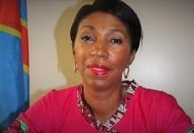 Jeanine Mabunda, présidente de la Chambre basse du parlement de la République démocratique du Congo © africanews