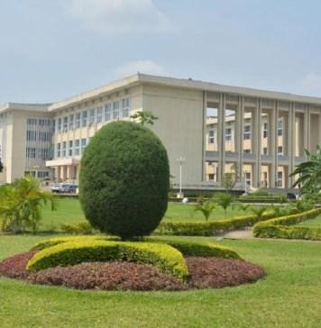 Palais du peuple, siège de l'Assemblée nationale de la RD Congo © Atlas Info