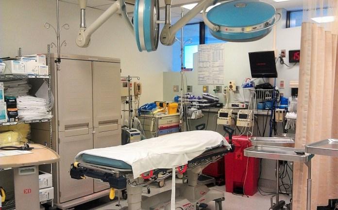 Salle de traumatologie de l'hôpital de Johannesburg, en Afrique du Sud ; © Wikipedia