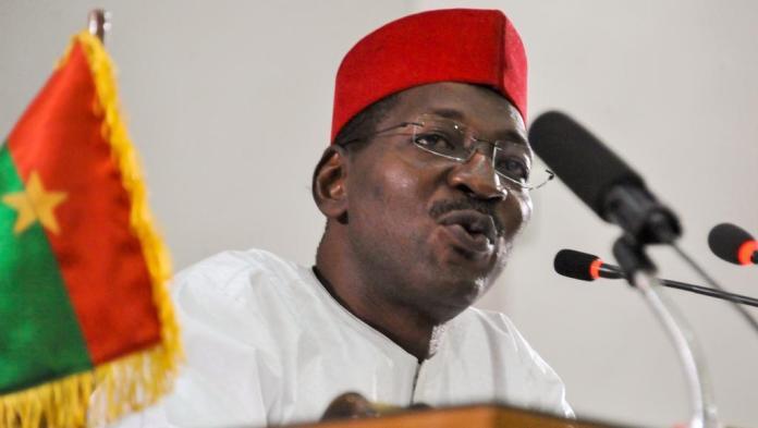Alassane Bala Sakandé, président de l'Assemblée nationale du Burkina Faso, ancien militant syndical et cade supérieur de banque © Rfi Afrique