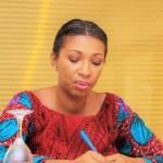 Jeanine Mabunda, présidente de l'Assemblée nationale de la République démocratique du Congo © Compte twitter Jeanine M.