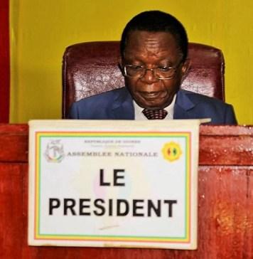 Claude Kory Kondiano, président de l'Assemblée nationale de la Guinée © Guinée news
