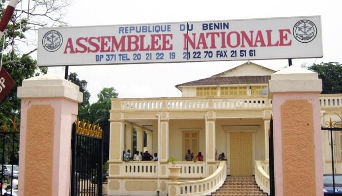Façade de l'Assemblée nationale du Bénin © Benin web TV