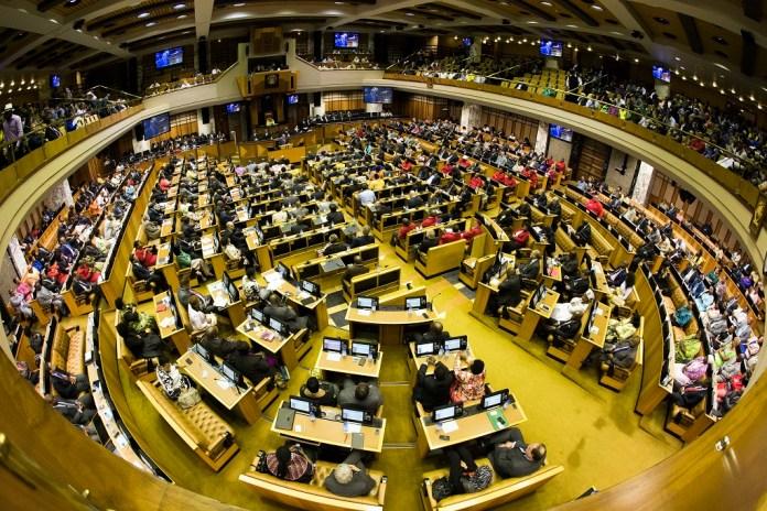 Assemblée nationale de l'Afrique du Sud © eNCA