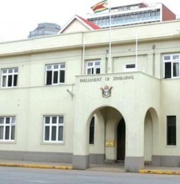 Siège du parlement zimbabwéen @New Zimbabwe