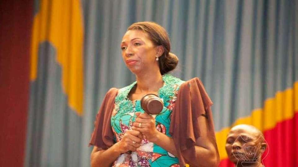 RD Congo : La présidente Jeanine Mabunda destituée