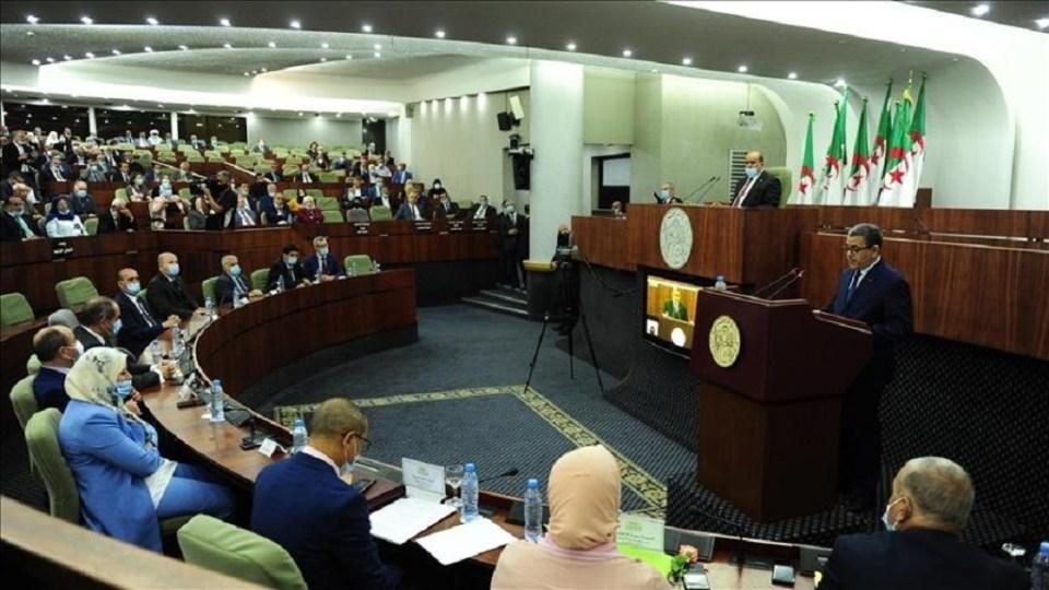 Les députés lors de l'ouverture de la session parlementaire ordinaire de l'Assemblée populaire nationale algérienne © aa.com.tr
