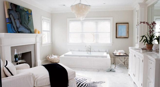 Ett badrum som verkligen ger inspiration