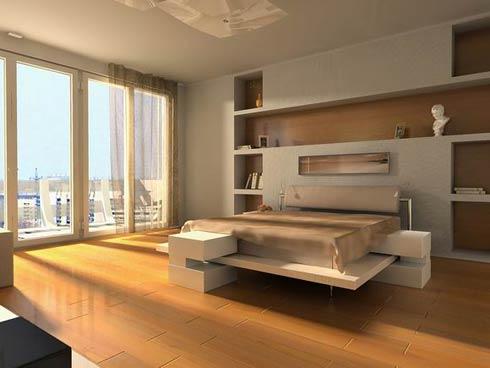 3. Inspiration sovrum - det minimalistiska med ljusinsläpp