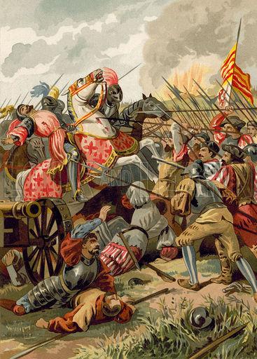 Battle of Cerignola, Italy, 1503