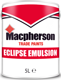 Macpherson Eclipse Emulsion 5l Brill White Magnolia
