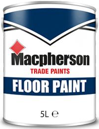 Macpherson Floor Paint 5L Grey