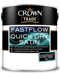 Quick Dry Satin 2.5L White