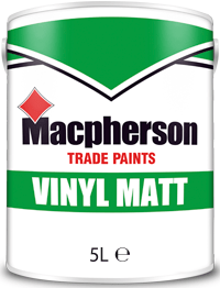 Macpherson Vinyl Matt 5l Brill White Magnolia