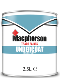 Macpherson Undercoat 2.5L White