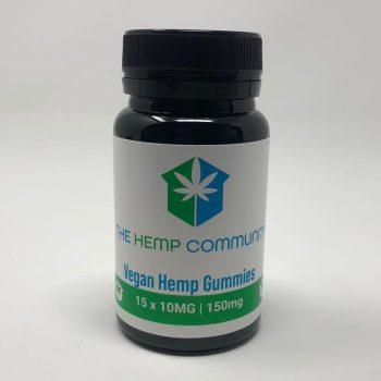 Vegan Hemp Gummies – 15 x 10mg CBD