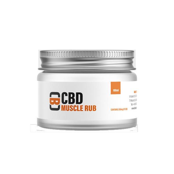 pot of cbd asylum 500mg muscle rub balm for pain relief