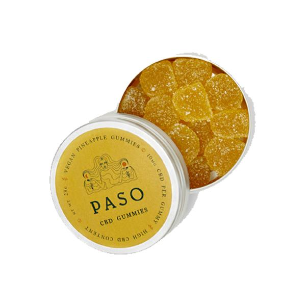 paso cbd gummies pinapple flavoured