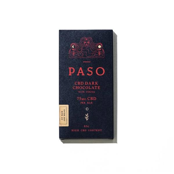 paso cbd chocolate dark in 75mg