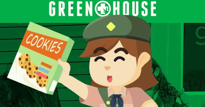 Girl scout cookies and cannabis dispensaries