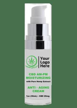 CBD AM-PM Moisturizing Cream Anti-Aging (20mg)