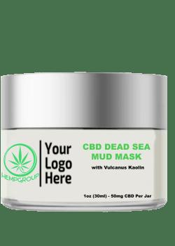 CBD Dead Sea Mud Mask 50mg