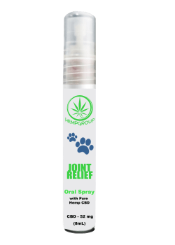 CBD Joint Relief Oral Pet Spray 52mg