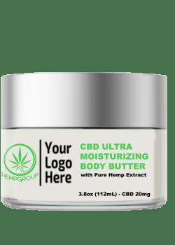 CBD Ultra Moisturizing Body Butter 20mg