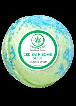 CBD Sleep Bath Bomb