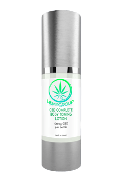 CBD Complete Body Toning Lotion