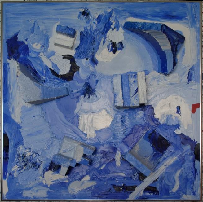 Gary Paints Blue