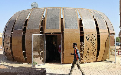Moroccan Students Build Off-Grid 'Hemp House' Made Almost Entirely From Hemp and Solar Panels