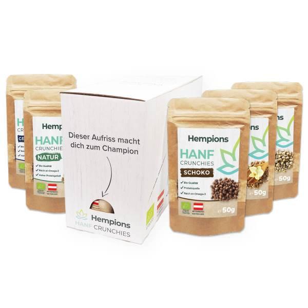 Hanf Crunchies Paket Box